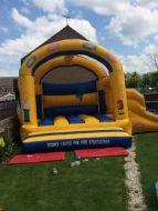 18x18 Bart Simpson Slide & Bounce
