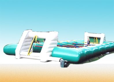 Bouncy Castle Human Table Football Hire